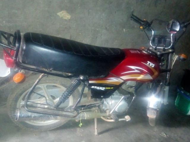 TVS motorcycle for sale